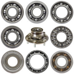 Industrial ball bearings set