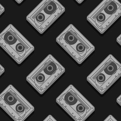 Vector Image Of Cassettes
