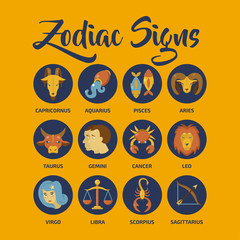 Zodiac Signs vector art