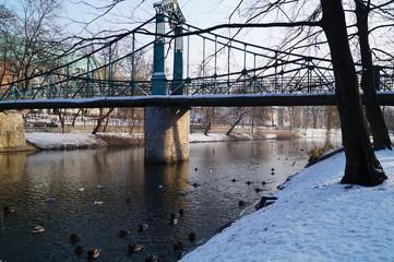 Opole, Zielony mostek