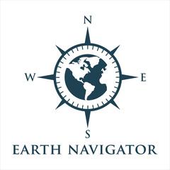 icon logo vector compass emblem navigation 8
