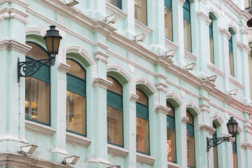 portuguese colonial architecture in Macau, China