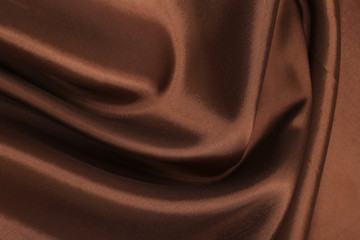 chocolate-colored cloth