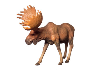Figure of a moose