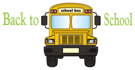 bus, school, school bus, background, isolated, children, school, education, letter, sign, ride, back to school