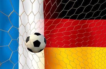 Football teams FRANCE and German