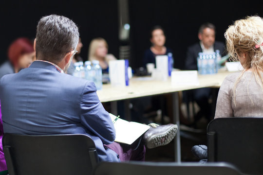 business debate