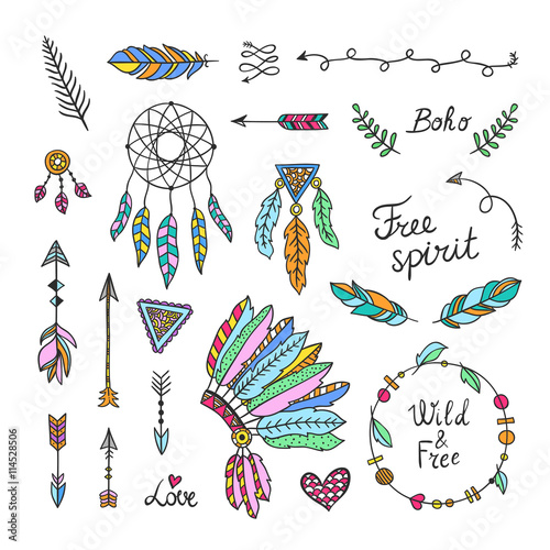 free vector green boho - photo #36
