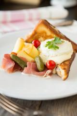 Italian breakfast plate