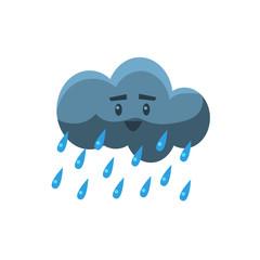 Cloud Pouring Rain