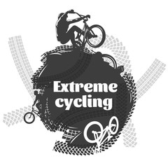 BMX Extreme Cycling Design