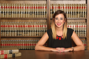 Texas Law, young attractive female lawyer, Don't Mess with Texas, Women's Rights