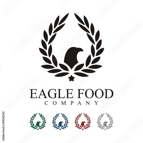 quoteagle logo eagle food logo food brand logo food logo