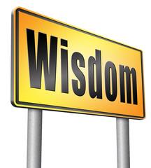 wisdom and knowledge