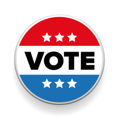 United States Election Vote Button or badge