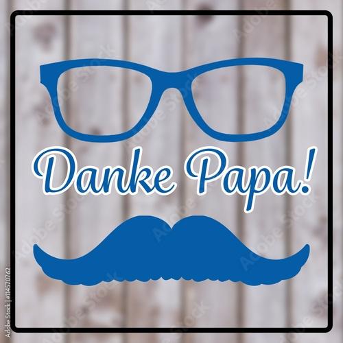composite image of danke papa stockfotos und lizenzfreie bilder auf bild 114570762. Black Bedroom Furniture Sets. Home Design Ideas