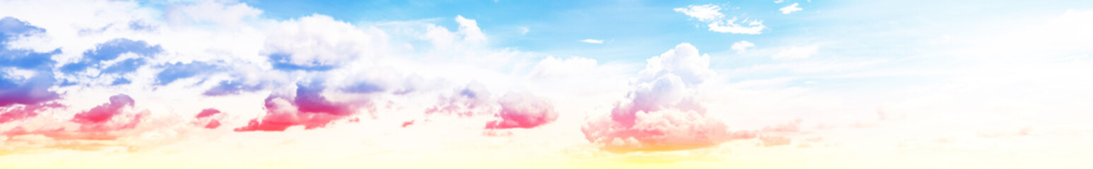 Summer sky beauty