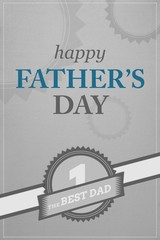 Certificate for being best dad