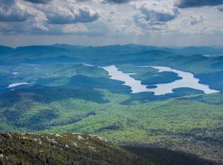 Panaroma of Adirondack Mountains