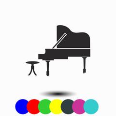Piano icon.