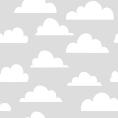 Background pattern clouds