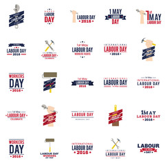 Labour Day labels