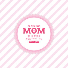 Mother Day label