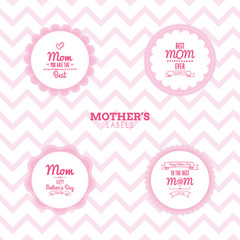Mother Day labels