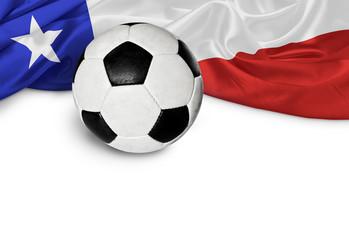 Banner Fußball Chile