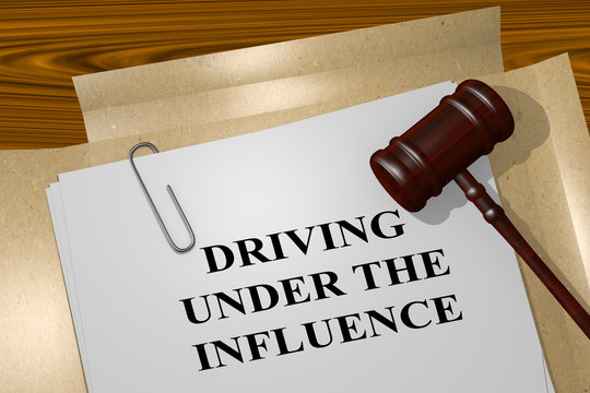 Driving Under The Influence legal concept