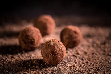 Fototapeta Sweet chocolate balls obraz
