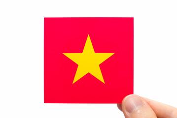 ベトナムの国旗イメージ