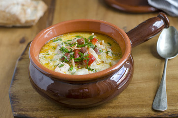 Ballycotton fish chowder