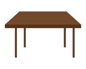 brown squared table icon