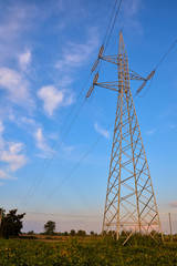 Electricity Pylon Pole
