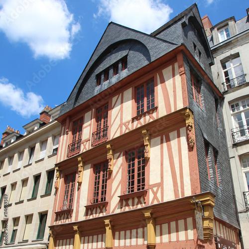 quot nantes maison du quartier bouffay quot imagens e fotos de stock royalty free no fotolia