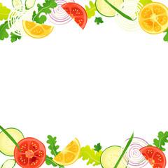 フレーム・野菜