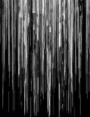 Computer glitch scrolling texture