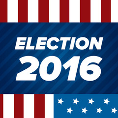 USA Election badge