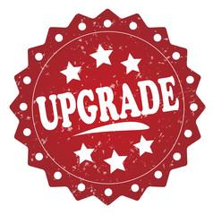 upgrade grunge stamp