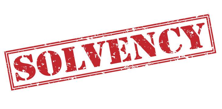 solvency stamp