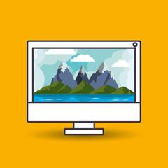 landscape wallpaper for computer design