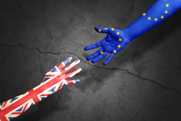Brexit Konzept