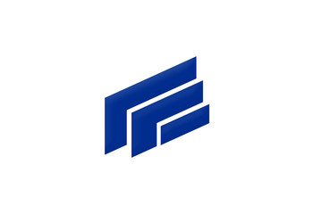 shape 3D building business logo