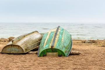 The Baltic sea beach in Repino near St Petersburg, Russia