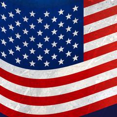 wavy american flag background