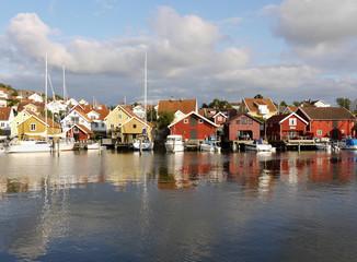 Fjällbacka an Schwedens Westküste.
