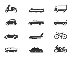 BW Icons - Transportation