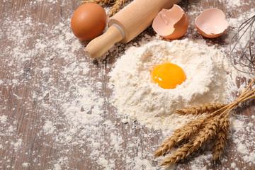 baking food background