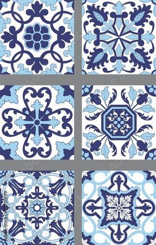 Seis modelos de azulejos portugueses imagens e vetores de stock royalty free no - Azulejos portugueses comprar ...